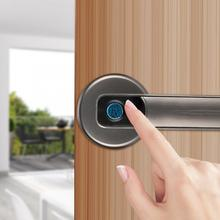Smart Fingerprint Door Safety Semiconductor Biometric Anti-Theft Lock with Key Biometric Door Lock biometric authentication systems