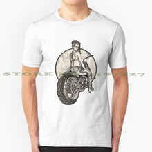 Retro Motorcycle Pinup Girl T - Shirts And Hoodies Graphic C