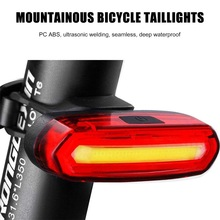 Bike Taillight Skillful Bike-Induction-Lamp Mountain-Bicycle Night-Cycling Rechargeable