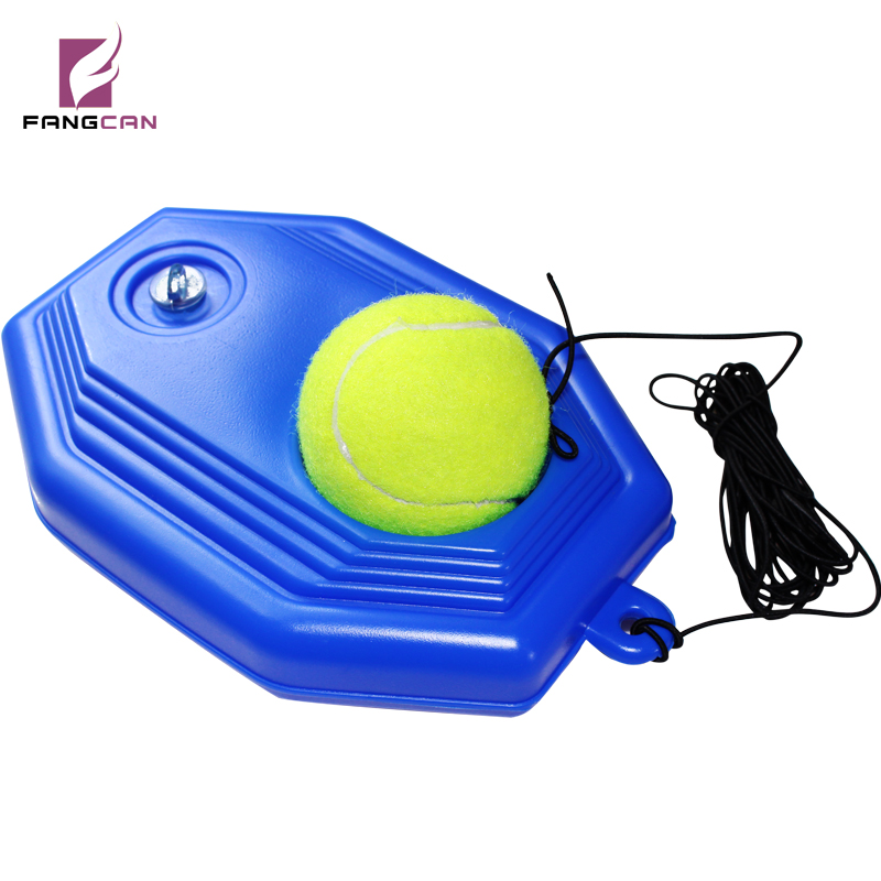 Self-Study Tennis Training Tool With Elastic Rope Ball Single Tennis Practice Trainer Tool At Home