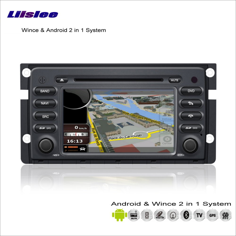 Liislee Car Android Multimedia <font><b>For</b></font> Smart Fortwo W451 2007~2013 Radio DVD Player <font><b>GPS</b></font> Navi Map Navigation Audio Video Stereo Syste image