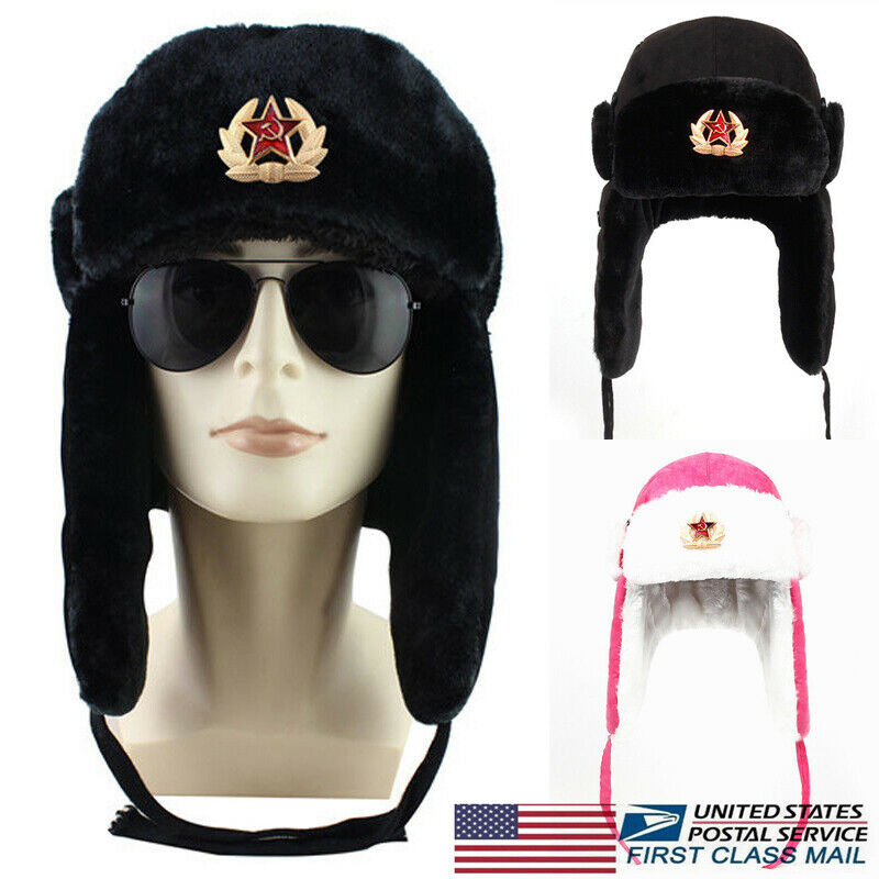 USSR Soviet Russian Army Black Star Cap Hat Badge 3 cm New