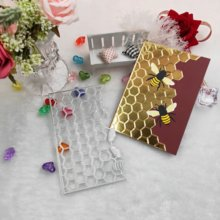 Bee and honeycomb metal cutting dies 2019 new DIY scrapbook album paper card decorative crafts embossing mold