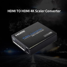 AM-9H20 HDMI to HDMI 4K Scaler Amplifier HDMI Down / Upscaler Converter Switch HDTV Blue-DVD Portable EU Plug