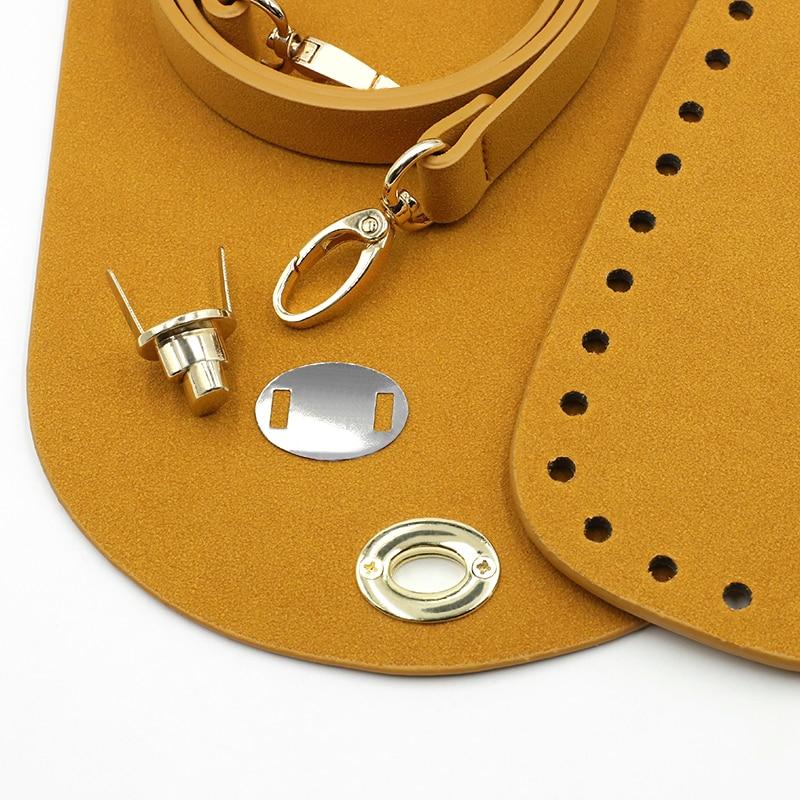 Clearance SaleBag-Set Handbag Hardware-Accessories Shoulder-Bag Woven New with for DIY