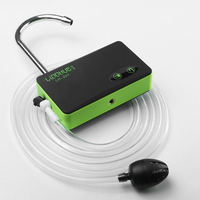 1* Air Pump Fishing Aerator With Bait Lights Portable Device Metal Outlet Pipe Charging Head