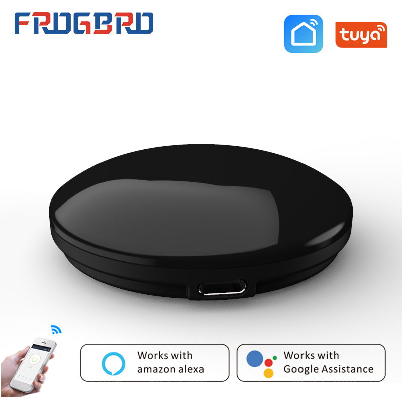 FROGBRO IR Smart Remote Control WiFi + Infrared Home Control Hub Household Appliances Tuya App Works with Google Assistant Alexa
