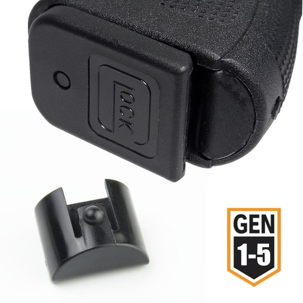 Grip Frame Insert Slug Plug For Glock 17 19 20 21 23 25 43X Pistol Gun Holster 9mm Mag Speed Loader Magazine Magwell Accessories