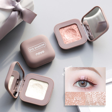 Novo High Gloss Polarized Glitter Eyeshadow Glittering Duo Eyeshadow Makeup Pale