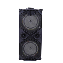 цена на Big Power Bluetooth Speaker Wireless Stereo Subwoofer Heavy Bass Speakers Music Player Support Microphone FM Radio TF FM Radio