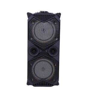 Bluetooth Колонка большой мощности, беспроводной стереозвук, сабвуфер, тяжелые басы, s музыкальный плеер, поддержка микрофона, FM радио, TF, FM радио