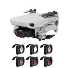 Sunnylife Camera Lens Filter MCUV ND4 ND8 ND16 ND32 CPL ND/PL Filters for Mavic Mini / DJI MINI 2 Drone