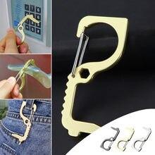 Ouvre-porte en métal Anti-contact, Protection de sécurité, Isolation, 3 pièces
