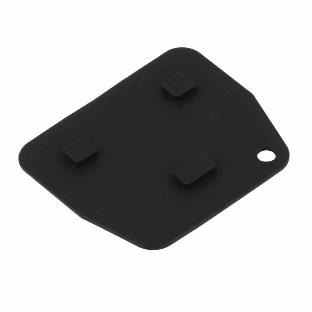 1 części wymienne do komputera 3 przycisk gumowy klucz zdalny Push Pad dla Toyota Avensis Corolla Lexus Rav4 3 przycisk klucz zdalny Fob darmowa wysyłka