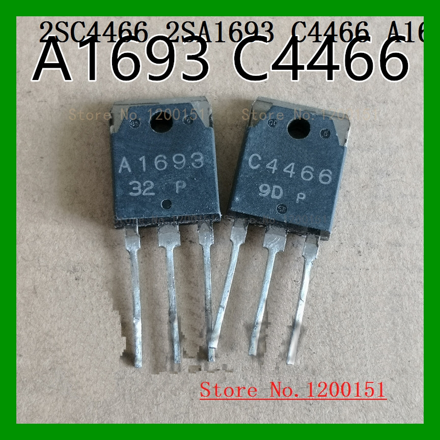 2pcs/lot=a Pair 2SC4466 2SA1693 C4466 A1693 TO247