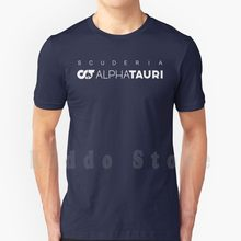 Scuderia Alpha Tauri T-shirt Bricolage Grande Taille 100% Coton Alpha Tauri Scuderia Alphatauri Gasly Pierre Gasly Course automobile À