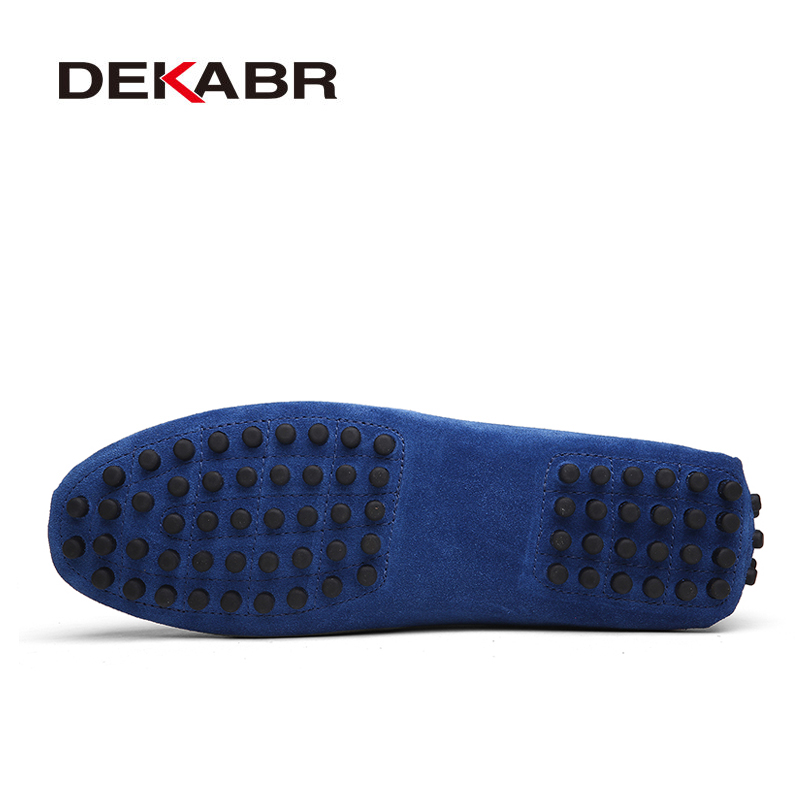 DEKABR 2020 New Arrival Men Driving Moccasins Genuine Leather Loafers Casual Fashion Wedding Men Footwear Large Size 38~50 4