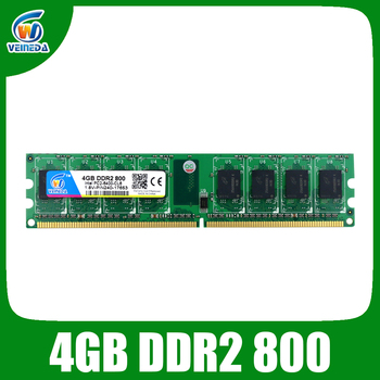 Новая оперативная память ddr2, 4 Гб, 800 МГц, для рабочего стола, совместимая память, оперативная память ddr2, 667 МГц, Dimm, 240 контактов