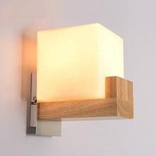 Скандинавский постмодерн Дизайн бра светильник простая лента стеклянная современная настенная лампа Ins ветровая синяя белая серая стеклянные настенная лампа для дома