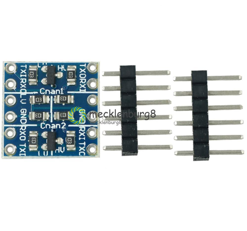 5pcs  IIC I2C Logic Level Converter Bi-Directional Module 5V to 3.3V NEW