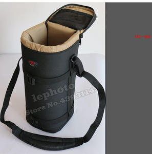 Image 3 - Thick Strong Telephoto Lens Pouch Bag Case for Tamron & Sigma 150 600mm 150 600 Nikon 200 500mm 300mm Canon 300mm F4 Camera Lens