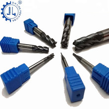 JIALING 1pc four flute milling cutterend mill 3mm 10mm hrc55 end mill 0.5 end mills cutting carbide