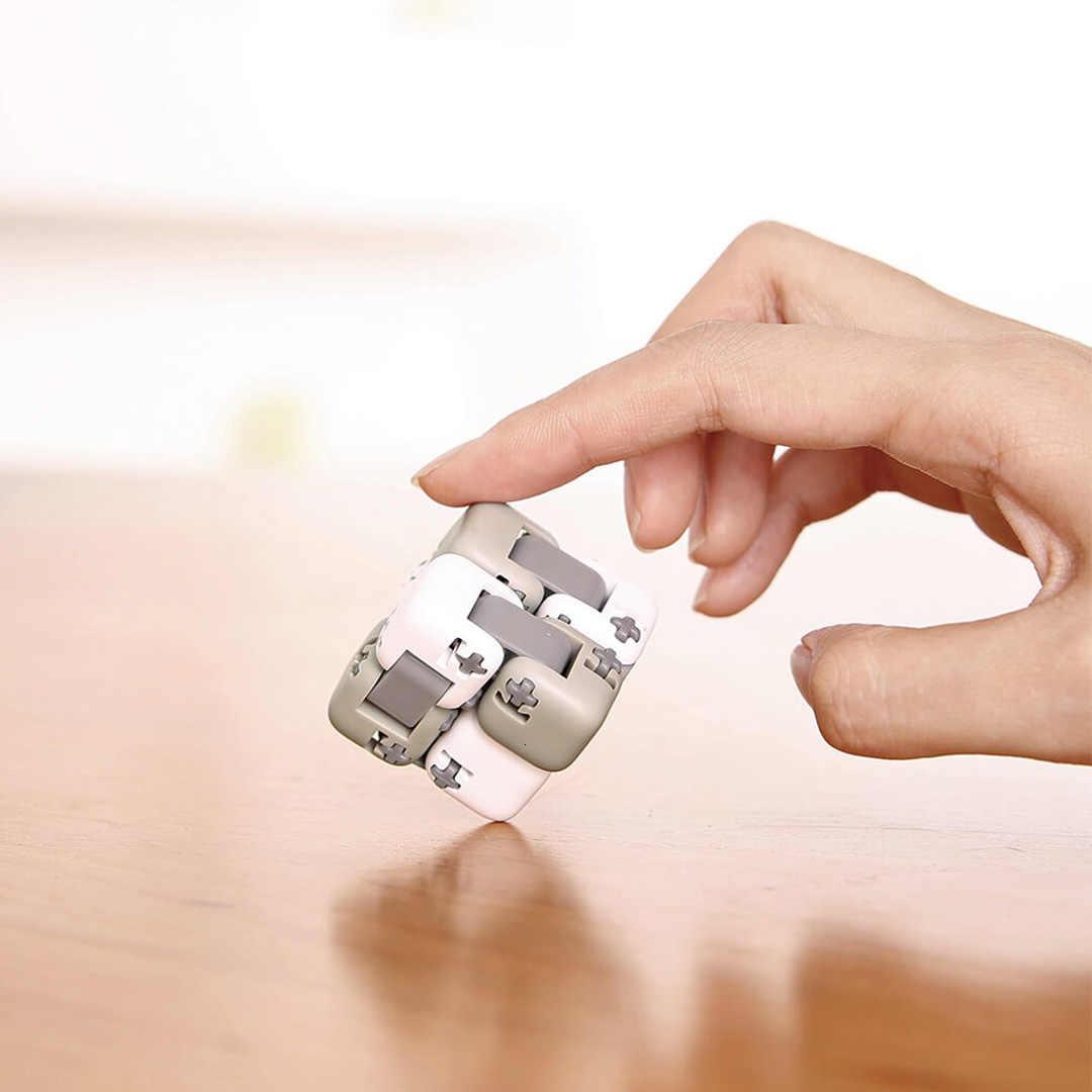 ססגוני מקורי Xiaomi ספינר אצבע לבני מודיעין צעצועי חכם אצבע צעצועי נייד עבור xiomi חכם בית מתנה עבור ילד