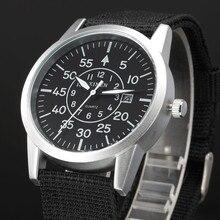 2019 XINEW Watch Men Sports Watches Military Army Canvas Strap Watches Men Man Clock Quartz Watch Relogio Masculino reloj hombre