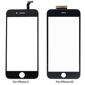 Image 2 - Nowy czarny biały ekran dotykowy szklany panel digitizera obiektyw dla iPhone 6 6s 6S Plus tanie wyświetlacz przednia część zamienna część naprawcza