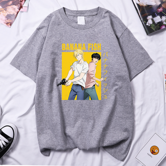 BANANA FISH THEMED T-SHIRT (7 VARIAN)