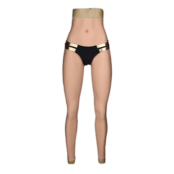 6G Fake Vagina Panty Realistic Full Silicone Ankle-length Silicone Panty Crossdresser Transvestite Dragqueen Transgender Cosplay