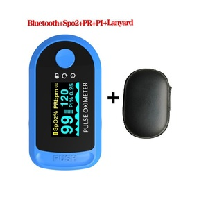 Bluetooth 4.0 Finger Oximetro Fingertip Pulse Oximeter Android iOS OLED Oximeters SPO2 PR PI RR monitor Oximetro