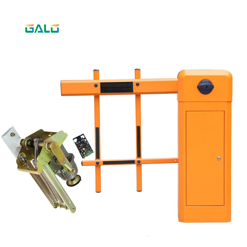 Aluminum Double Fence Automatic Parking Barrier Gate Opener  Vehicle Access Control Fence Arm Boom Traffic Barrier Gate