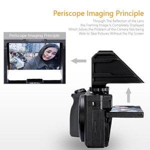 Image 3 - UURig Vlog Macchina Fotografica Dello Schermo di Vibrazione Staffa Per Selfie Mirrorless Camera Periscopio Soluzione Per Sony A6500/6300/A7M3 A7R3 nikon Z6/Z7