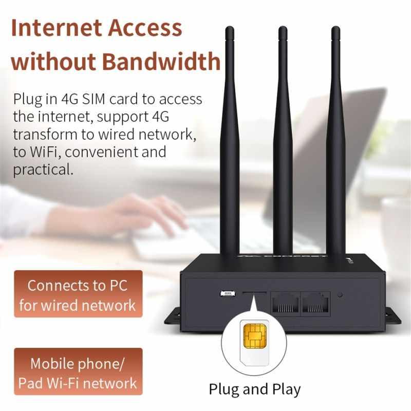 Routeur Wifi 3 5dbi Antennes Sans Fil Ap Plug Play 4g Carte Sim 2 4g 4g Lte Transfert Vers Reseau Cable Wifi Pour Pc Telephone Pad Aliexpress