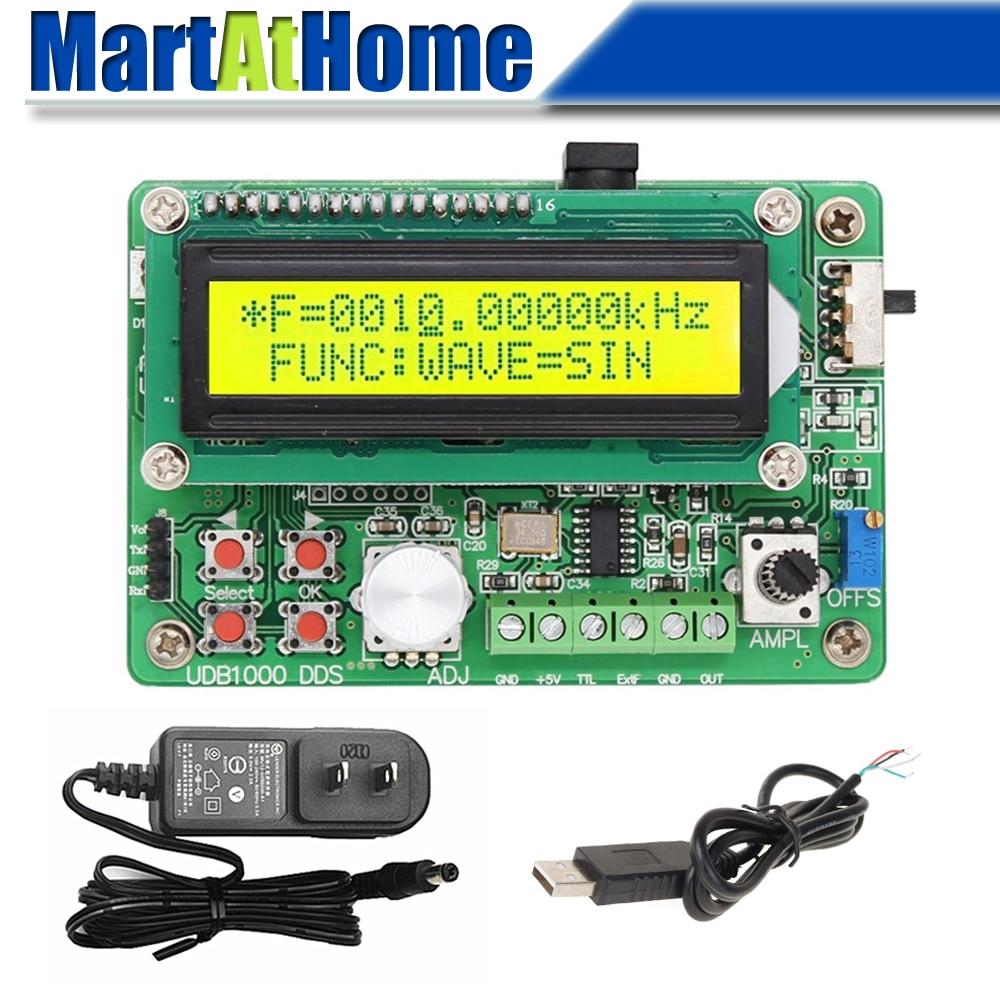 Source de Signal de générateur de Signal de fonction de 0 ~ 5MHz DDS avec le mètre de fréquence de 60MHz et la Communication de TTL