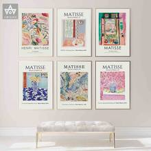 Vintage Henri Matisse Retro Posters And Prints Abstract Landscape Wall Art Canvas Painting Pictures For Living Room Home Decor