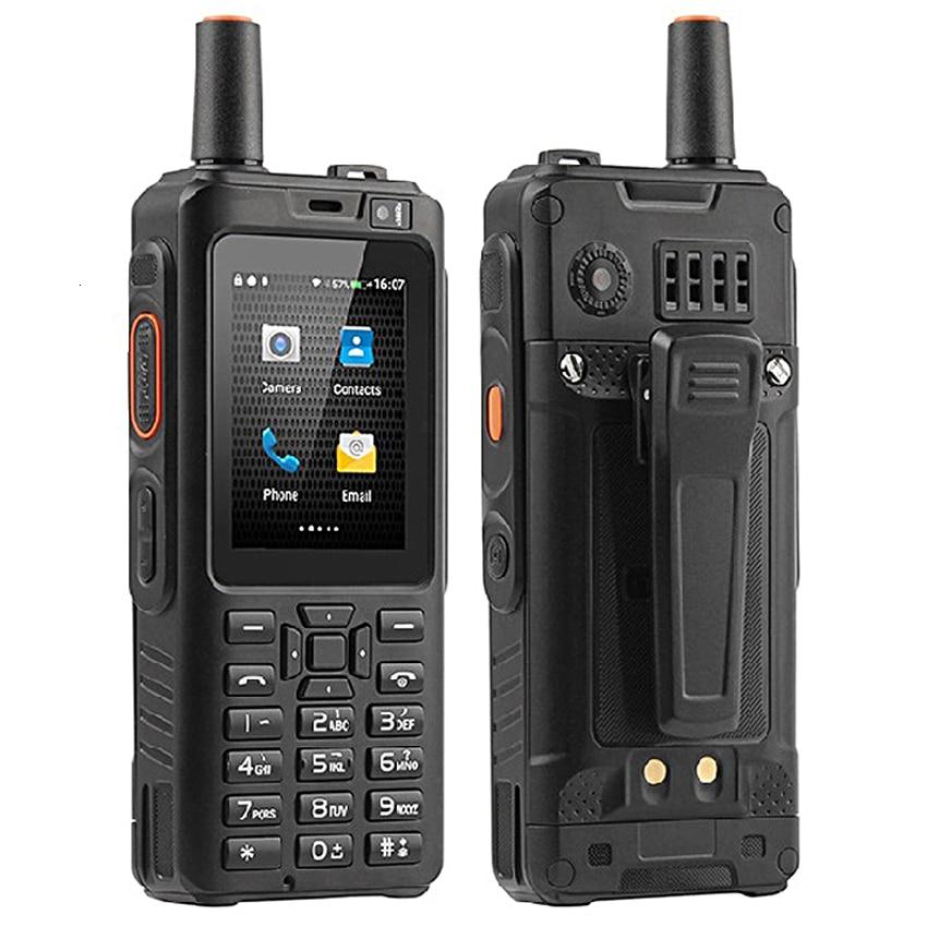 IP68 Waterproof Mobile Phone 4000mAh Zello Walkie Talkie Android 6.0 GPS 4G Rugged Smartphone Quad Core 1GB+8GB Dual SIM F40