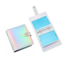 Get more info on the 20Slots Fashion Nail Stamping Plate Holder Case Laser Silver Practical Empty Rectangle Plates Organizer Manicure Nail Stamp Kit