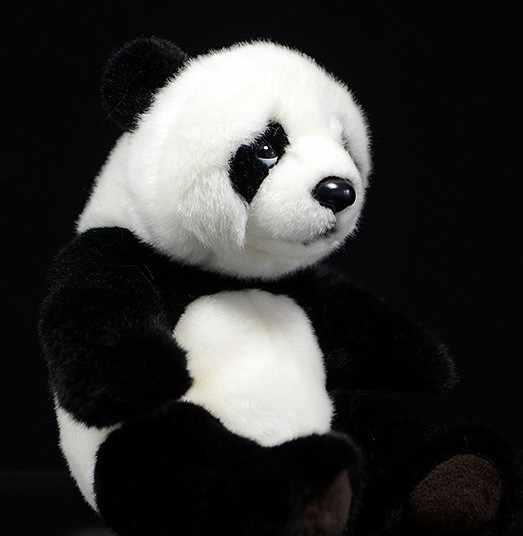 Neue ankunft 21cm Panda plüsch weichen Spielzeug Simulation Tier Plüsch Puppen spielzeug für kinder geburtstag geschenk
