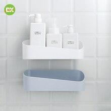 Bathroom Accessories Storage Box Kitchen Organization  Shelves Folding Frame Wall Environmentally Friendly Punch Free