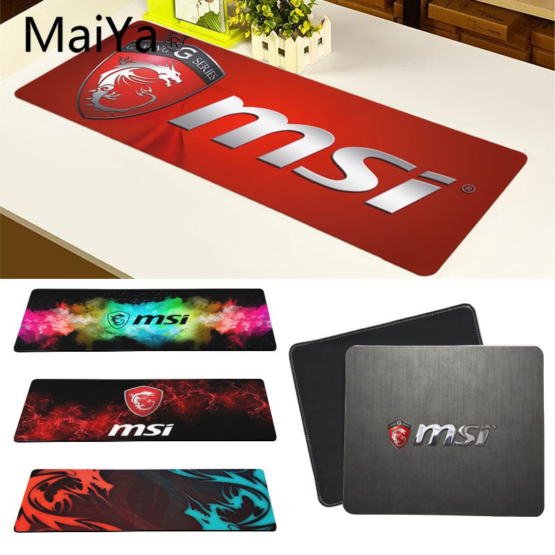 Maiya Top Quality MSI Dragon DIY Design Pattern Game Mousepad Free Shipping Large Mouse Pad Keyboards Mat