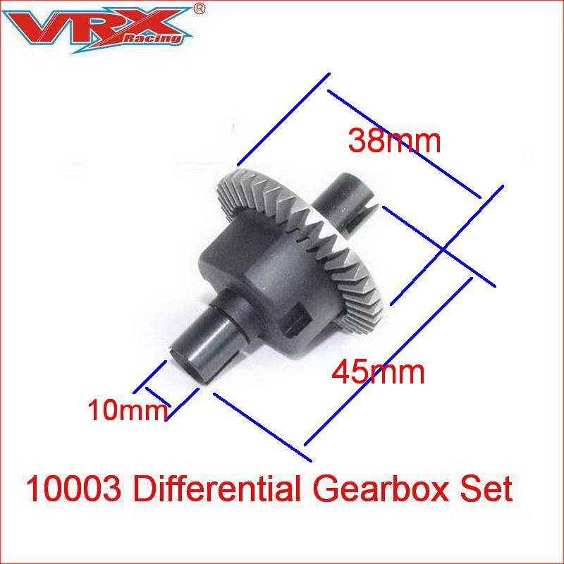 10003 Differential Gearbox Set for VRX Racing <font><b>1/10</b></font> scale 4WD <font><b>rc</b></font> car parts,<font><b>1/10</b></font> remote contol Toys car <font><b>accessories</b></font> image