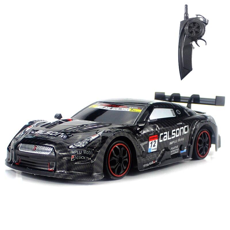 Rc carro para gtr/lexus 2.4g fora da estrada 4wd drift racing carro campeonato do veículo de controle remoto eletrônico crianças brinquedos hobby