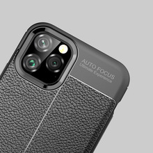 Aizbildnis soft tpu Auto Focus Case For iPhone X XS MAX XR XI cover case luxury phone 7 8 Business Leather Phone Back Cover