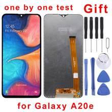 5.8 polegadas para galaxy a20e SM-A202F/ds tela lcd original e digitador assembléia completa para samsung galaxy a20e SM-A202F/ds