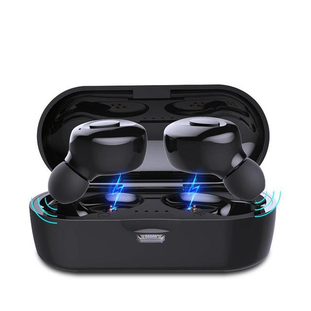 Bluetooth-Compatible V5.0 Earphones TWS True Wireless Headphones In-Ear Earbuds Waterproof Mini Headsets Stereo Sports Earpiece 1