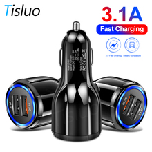 Quick Charge 3.0 Car Charger Dual USB Fast Charging for iPho
