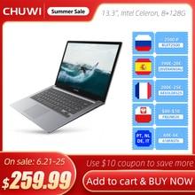 CHUWI HeroBook Pro   13 3 Inch  3200 1800 Resolution  Intel Celeron J3455 Processor  LPDDR4 8GB  128GB ROM  Windows 10  Laptop