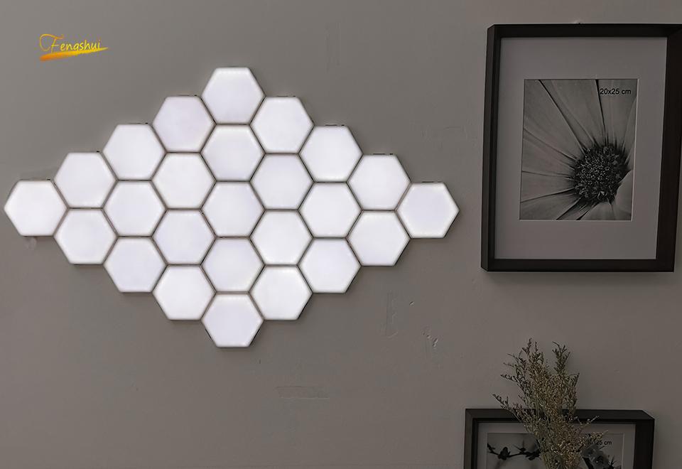 hexagonal modular Wall Lamp Free Shipping